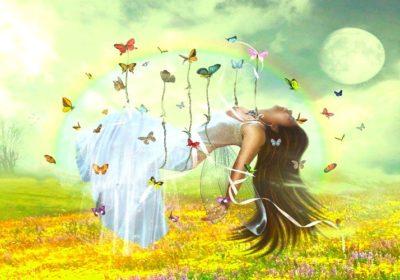 Упражнение «Сказка о бабочке сновидений»