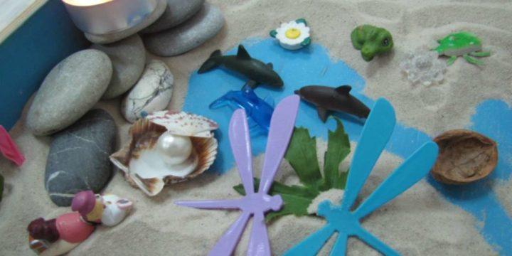 11 игр песочной психотерапии